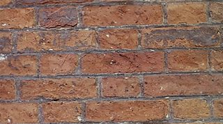 Brick is strong in compression - it resists being squashed