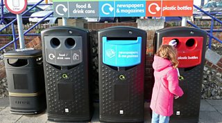 Separating items at a recycling centre is just the first stage in sorting polymers