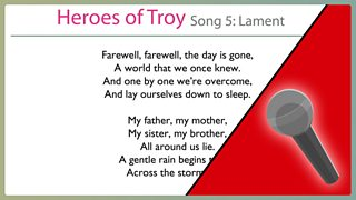 School Radio - KS2 Music: Heroes of Troy - Heroes of Troy: Resources