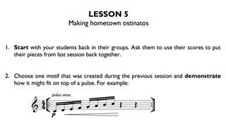 CBBC - Ten Pieces - Lesson plans