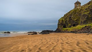 Photograph of Downhill Beach, County Londonderry