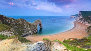 Photograph of Bay and headland – Durdle Door, Dorset