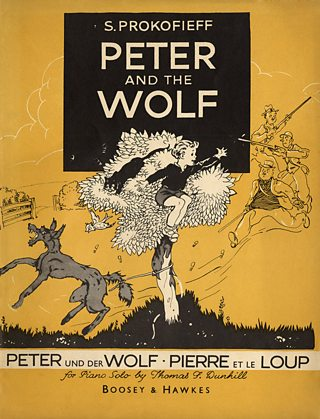Cover of Musical Score for Peter and the Wolf