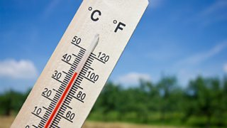Photograph of a thermometer