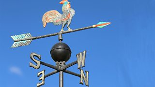 Photograph of a wind vane