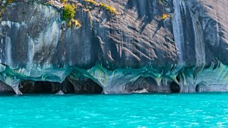 Photograph of Marble Caves of Lake General Carrera, Chile