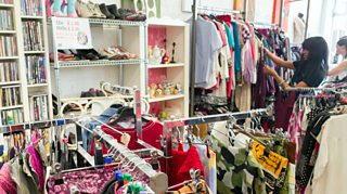 A charity shop. Charities operate in the third sector