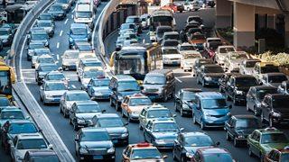 Photograph of traffic