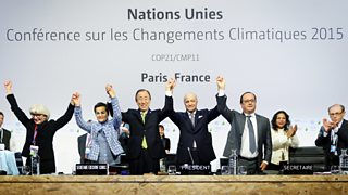 Photograph of world leaders at summit