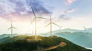Photograph of Wind Turbines