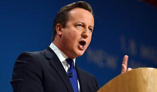 Prime Minister David Cameron, 2014