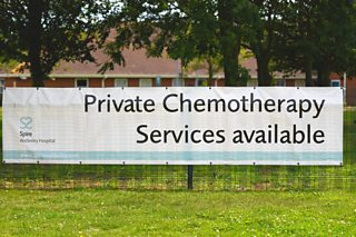 Private chemotherapy. Spire Wellesley Hospital, Southend-on-Sea
