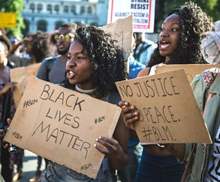 Black Lives Matter protest, London, 6 August 2016