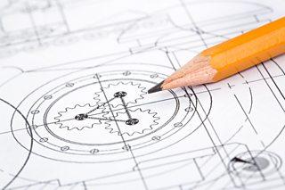 An industrial design diagram
