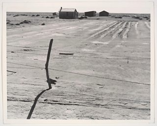 Abandoned Farm in the Dustbowl, Coldwater District, near Dalhart, Texas