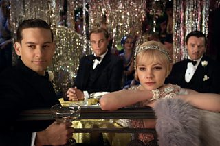 A scene from The Great Gatsby film (2013)