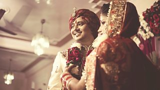 An Indian wedding ceremony