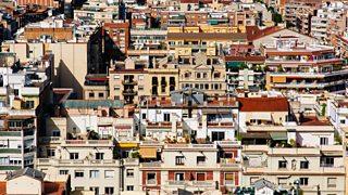 Residential blocks in Spain