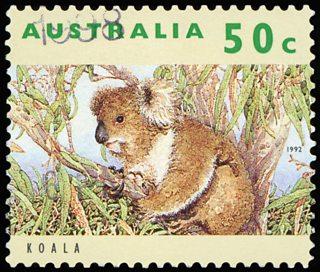 An Australian postage stamp