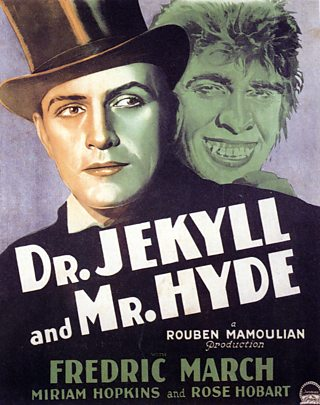 Dr. Jekyll and Mr. Hyde, 1931 movie poster