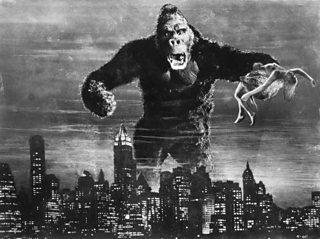 A still from King Kong, 1933