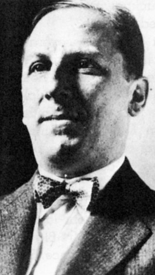 A close-up portrait photograph of Arnold Rothstein.