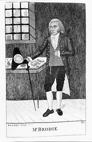 Illustration depicting William Brodie