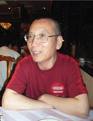 Nobel Peace Prize laureate and Chinese dissident Liu Xiaobo, 2005