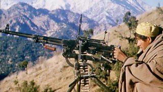Image showing Mujahideen fighter in Afghanistan