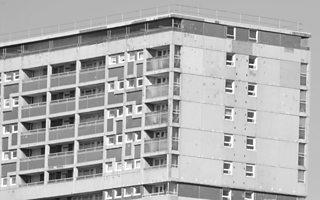 High rise block of flats, Glasgow, Scotland