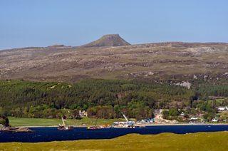 Dun Caan and Churchton Bay, Island of Raasay