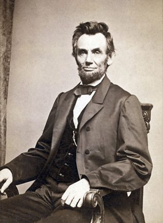 Abraham Lincoln, the 16th President of the United States of America