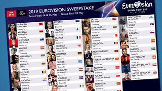Bbc One Eurovision Song Contest Eurovision 2019 Party Pack
