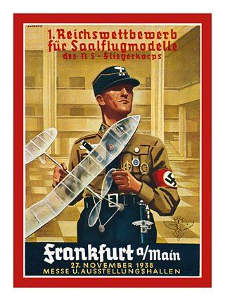 Pre-WW2 Nazi propaganda postcard
