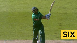 Australia v Bangladesh in the ICC Cricket World Cup - in-play clips