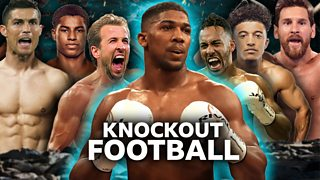 Knockout Football: Anthony Joshua settles soccer's greatest rivalries thumbnail