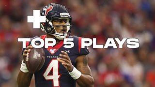 Deshaun Watson quarterback for the Houston Texans - top 5 plays thumbnail