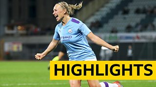 WSL Highlights: Manchester City Females 3-1 Everton Females thumbnail