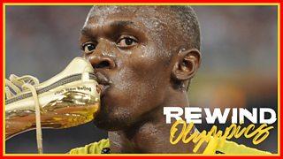Olympics Rewind Beijing: Usain Bolt wins 100m gold in ...