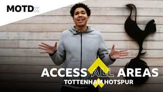 MOTDx Access All Area: Craig Mitch spends a day as a pro at Tottenham Hotspur thumbnail