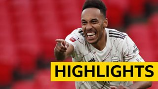 Community Shield highlights: Arsenal victorious after penalty shootout win over Liverpool thumbnail
