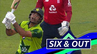 England v Pakistan: Fakhar Zaman hits six then falls to Adil Rashid thumbnail