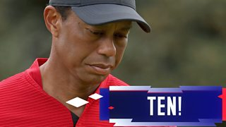 The Masters 2020: Tiger Woods makes 10 on par-three 12th thumbnail