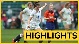 England 25-23 France: Emily Scarratt seals Red Roses win with last kick of game thumbnail