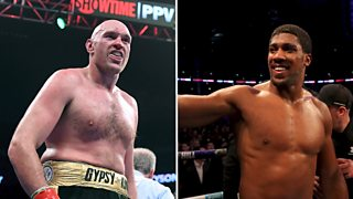 Anthony Joshua: Tyson Fury fight could be the biggest in boxing history thumbnail