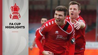 FA Cup: Crawley Town 3-0 Leeds United highlights thumbnail