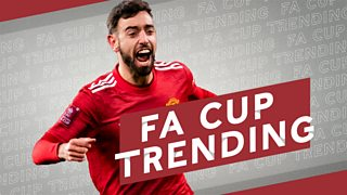 FA Cup: Manchester United take the lead late on against Liverpool thanks to Bruno Fernandes' free-kick thumbnail