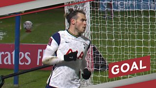 FA Cup: Gareth Bale hooks in deft equaliser for Tottenham Hotspur at Wycombe Wanderers thumbnail