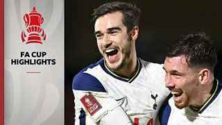 FA Cup: Wycombe Wanderers 1-4 Tottenham Hotspur highlights thumbnail