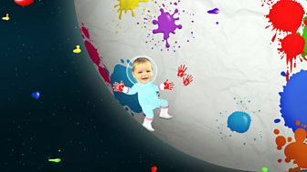 Baby Jake - Series 2 - Baby Jake Loves Space Painting